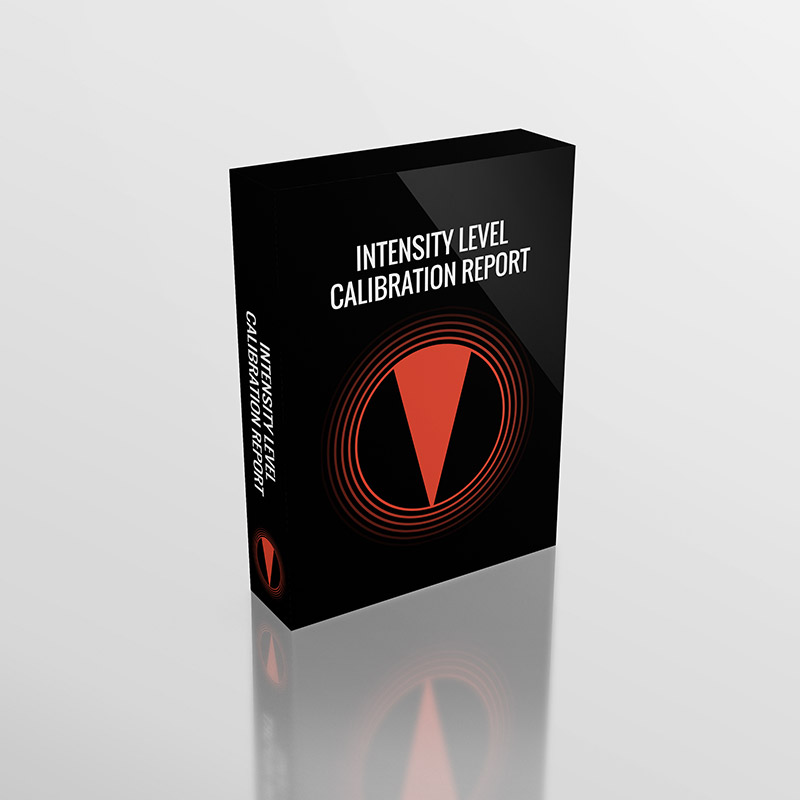 Phonanium Intensity Level Calibration Report